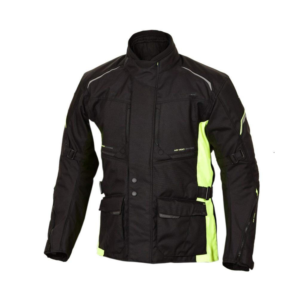 Blackwild Nr. 1 Jacke in Schwarz und Fluorescent