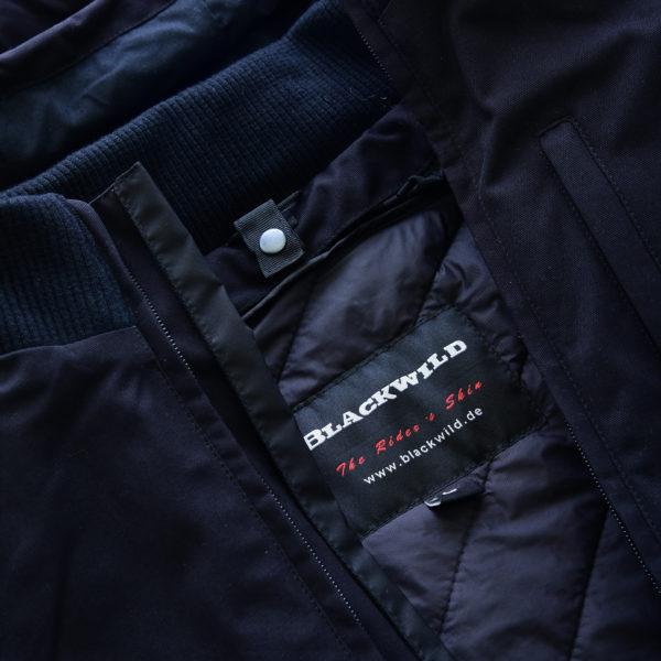 Blackwild City Street Jacke in Blau