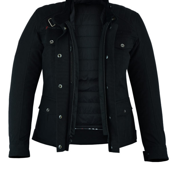 Biker Crave In Black For Ladies