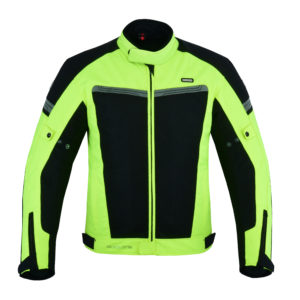 Air Cool Mesh Motorradjacke in Fluorescent