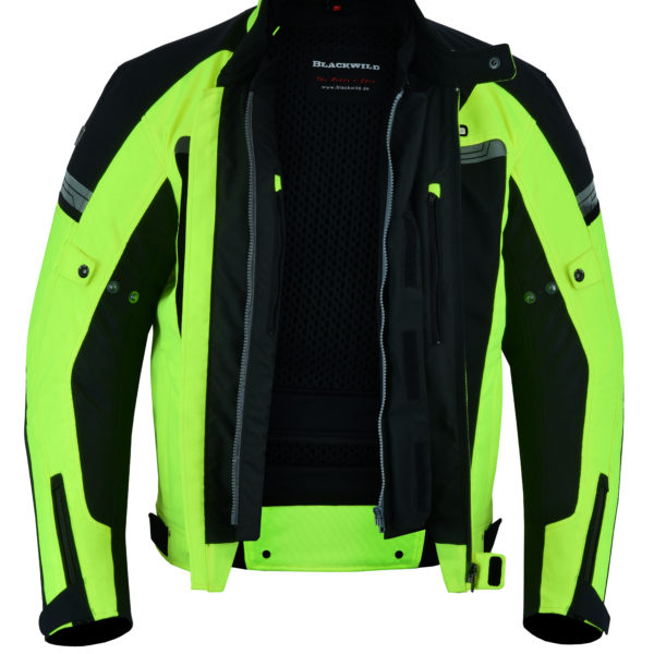 Air Cool Mesh Jacke in Fluorescent