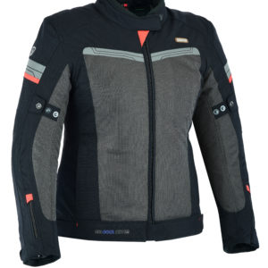 Air Cool Mesh Motorradjacke in Black