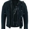 Milano Urban Style Jacke in Schwarz