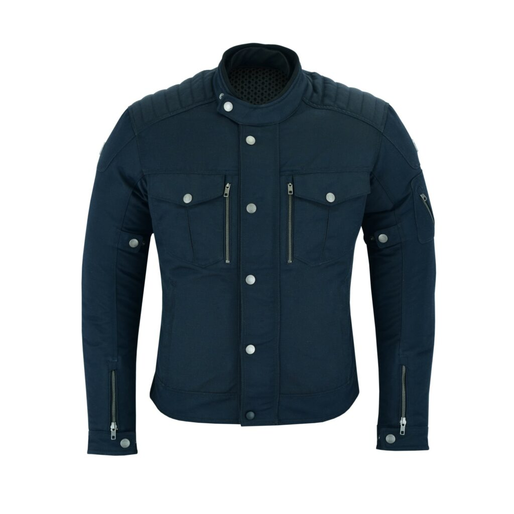 Milano Urban Style Jacke in Blau